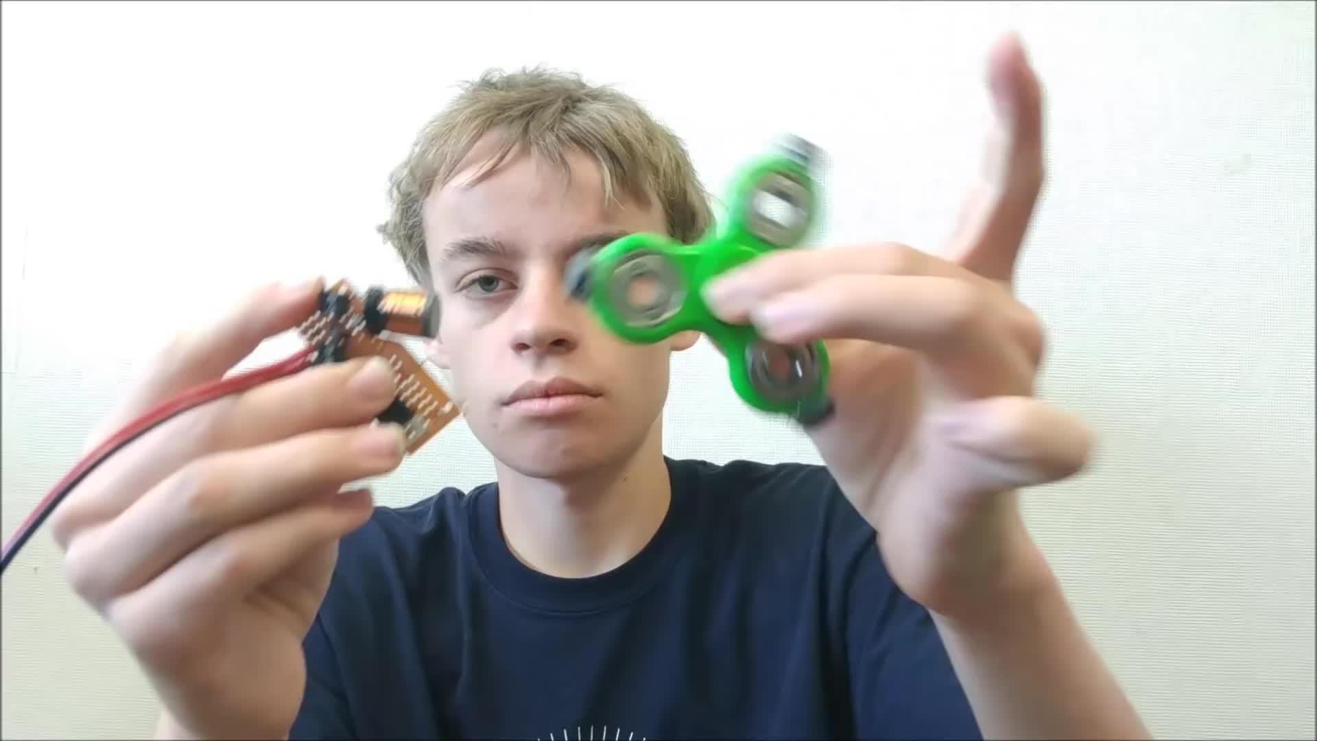 fidget, fidget spinner, spinner, Electromagnetic Fidget Spinner Accelerator(1440 RPM) GIFs