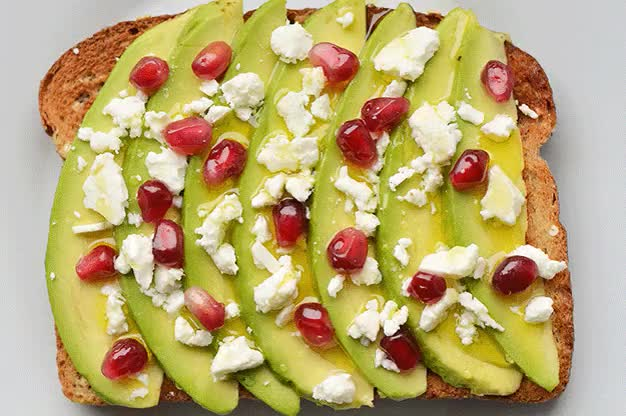 Watch and share 21 Ideas For Energy-Boosting #Breakfast Toasts #gif #food GIFs on Gfycat