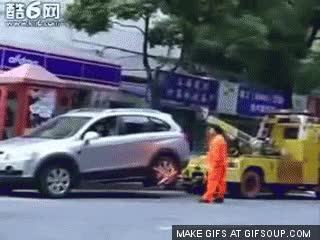 Watch Tow Truck Getaway GIF on Gfycat. Discover more related GIFs on Gfycat