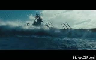 Watch and share Battleship - Drifting Battleship GIFs on Gfycat