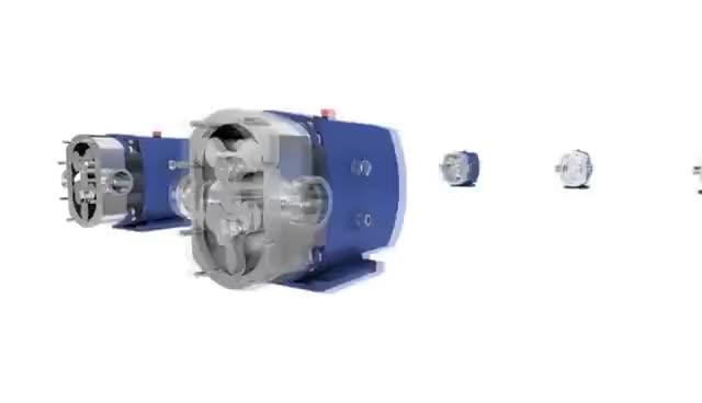 Watch and share Alfa Laval's SRU Rotary Lobe Pump GIFs on Gfycat