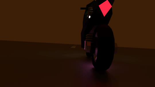 [A] Low Poly Motorcycle GIFs