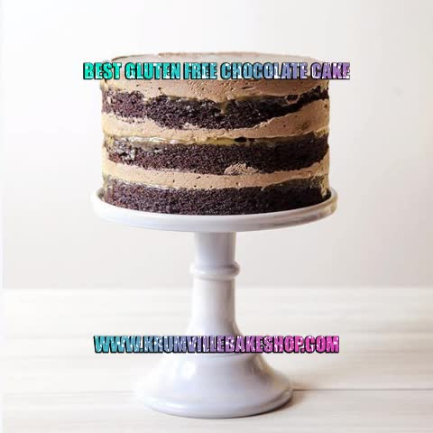 Watch and share Best Gluten Free Chocolate Cake - Krumville Bake Shop GIFs by Krumville Bake Shop on Gfycat