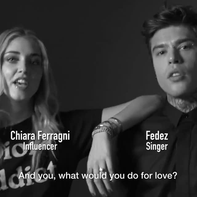 Watch and share DIOR LOVE CHAIN - Chiara Ferragni & Fedez GIFs on Gfycat