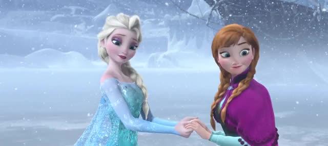 Watch and share Elsa Undoing Freezing GIFs by AzureBeast on Gfycat