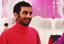 Watch and share Parks And Rec GIFs and Aziz Ansari GIFs on Gfycat