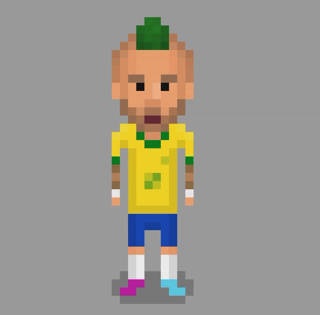 Watch Player-Editor-Custom-Player GIF by Pixel Soccer (@rompepkoe) on Gfycat. Discover more gamedev GIFs on Gfycat