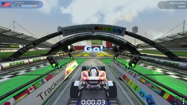 Watch and share Gamephysics GIFs and Trackmania GIFs by Timmy-P on Gfycat