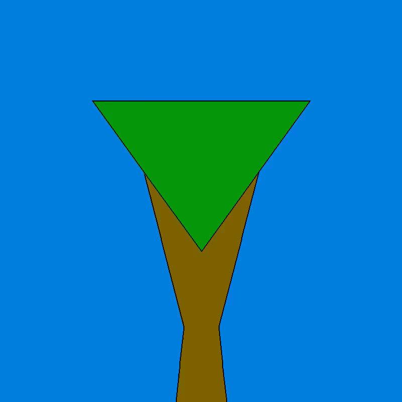 proceduralgeneration, Tree 2 GIFs