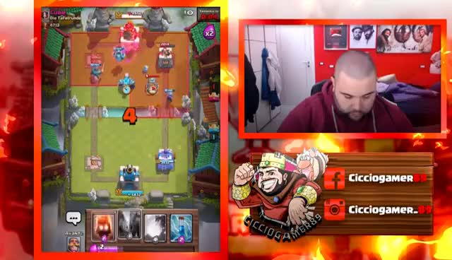 Watch and share CLASH ROYALE : Questo Golem È Proprio Duro GIFs on Gfycat