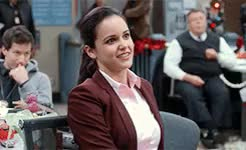 Watch and share Melissa Fumero GIFs and Amy Santiago GIFs on Gfycat