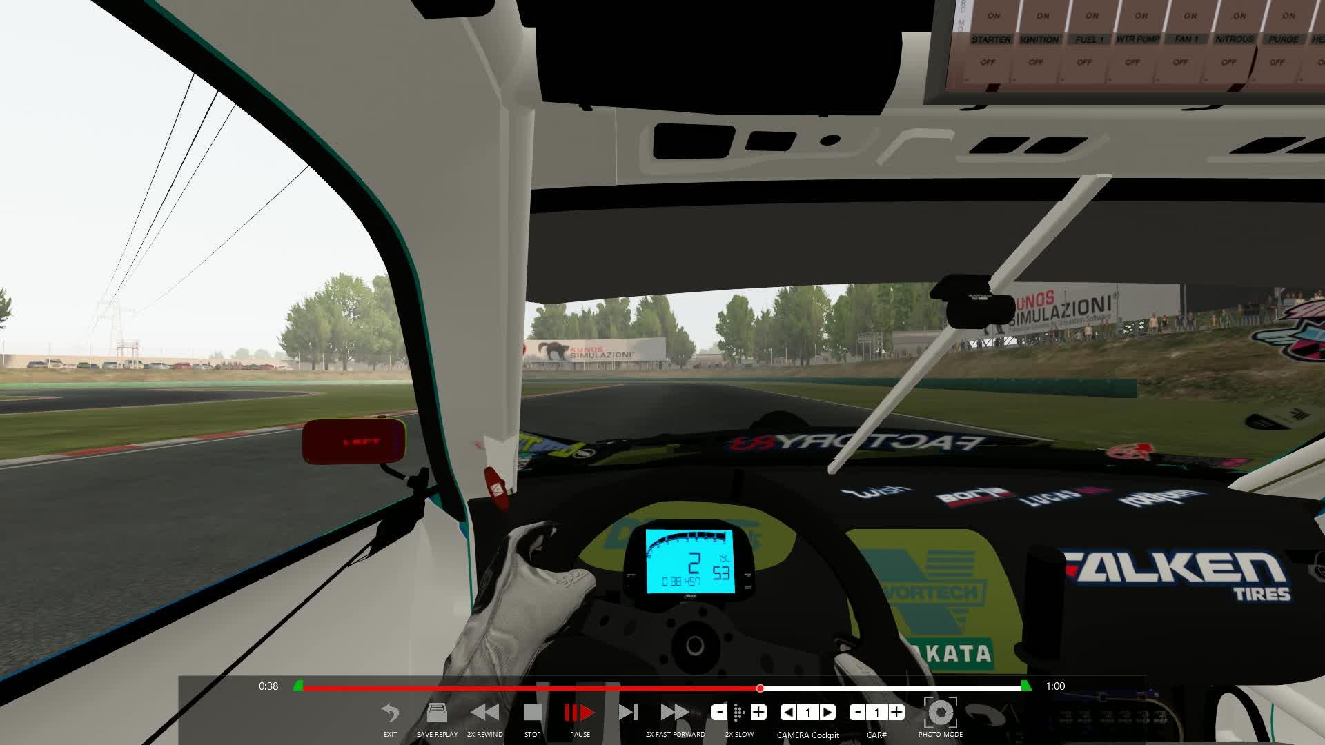 ac, assettocorsa, drift, fd, formulad, formuladrift, s14, smooth, transitions, wheel, Improvement Cockpit Cam GIFs