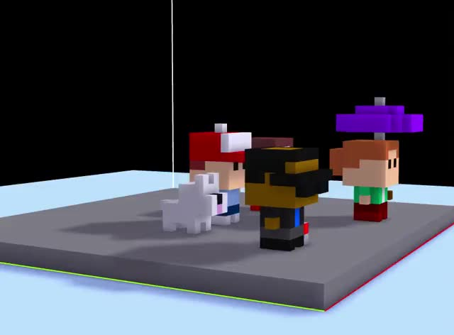 Watch voxel bitizens GIF on Gfycat. Discover more related GIFs on Gfycat