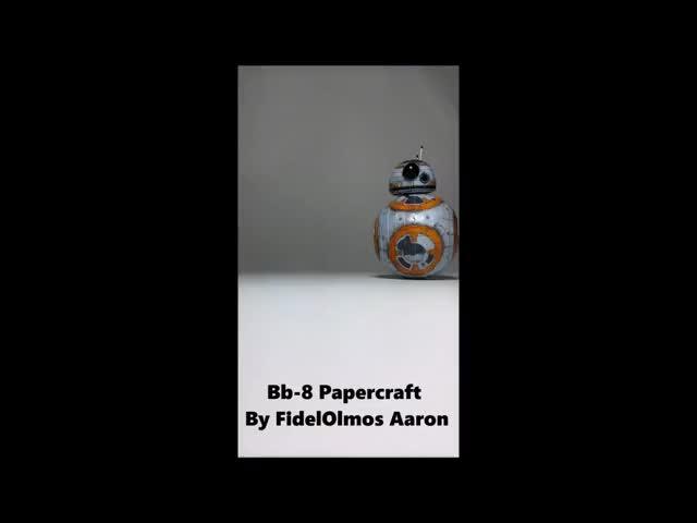Watch and share Starwar Papercraft GIFs on Gfycat