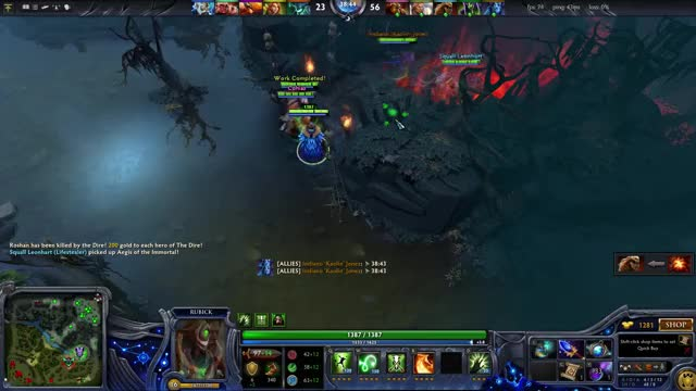 Watch and share Earthshaker GIFs and Rubick GIFs on Gfycat