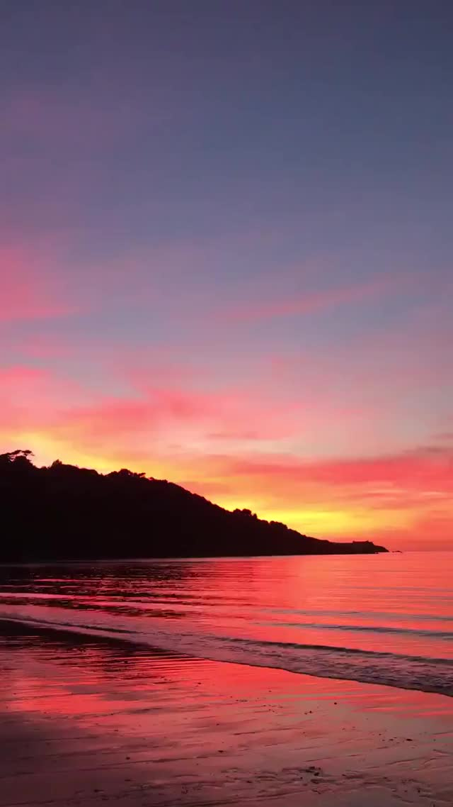 Watch and share Relax At The End Of Your Day With Some Cornish Calm..... - - Cornwall CarbisBay Ocean Nature Sunset Calm GIFs on Gfycat