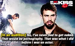 Watch and share I Love U My Son GIFs and Theo James GIFs on Gfycat