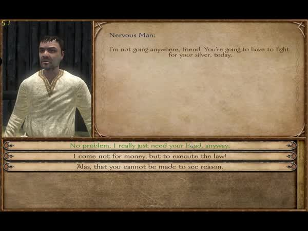 mountandblade, I come here not to execute the law, but you! (reddit) GIFs