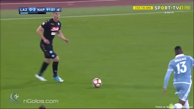 Watch and share Lazio 0-3 Napoli - Insigne 90'+2' GIFs on Gfycat