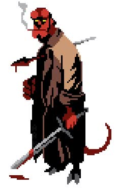 Watch and share Hellboy GIFs on Gfycat