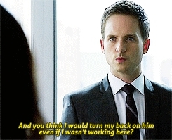 **, Patrick J Adams, mike ross, rachel zane, suits, suitsusa, heart suits GIFs