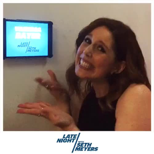 Watch and share Late Night With Seth Meyers GIFs and Vanessa Bayer GIFs on Gfycat