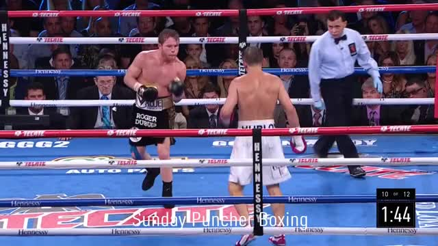 Watch GGG lands a monster counter-right on Canelo in the 10th GIF by Tom_Cody (@tomcody) on Gfycat. Discover more Boxing, Canelo, Canelo Alvarez, CaneloGolovkin, GGG, Golovkin, The Matrix GIFs on Gfycat