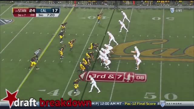 Watch and share Christian McCaffrey Vs Cal (2016) GIFs by markbullock on Gfycat