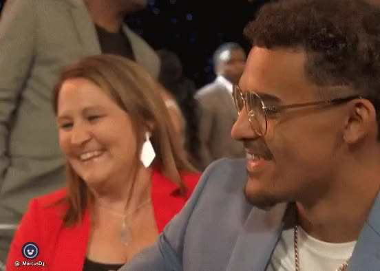 Watch and share Trae Young Chardonnay NBA Awards GIFs by MarcusD on Gfycat