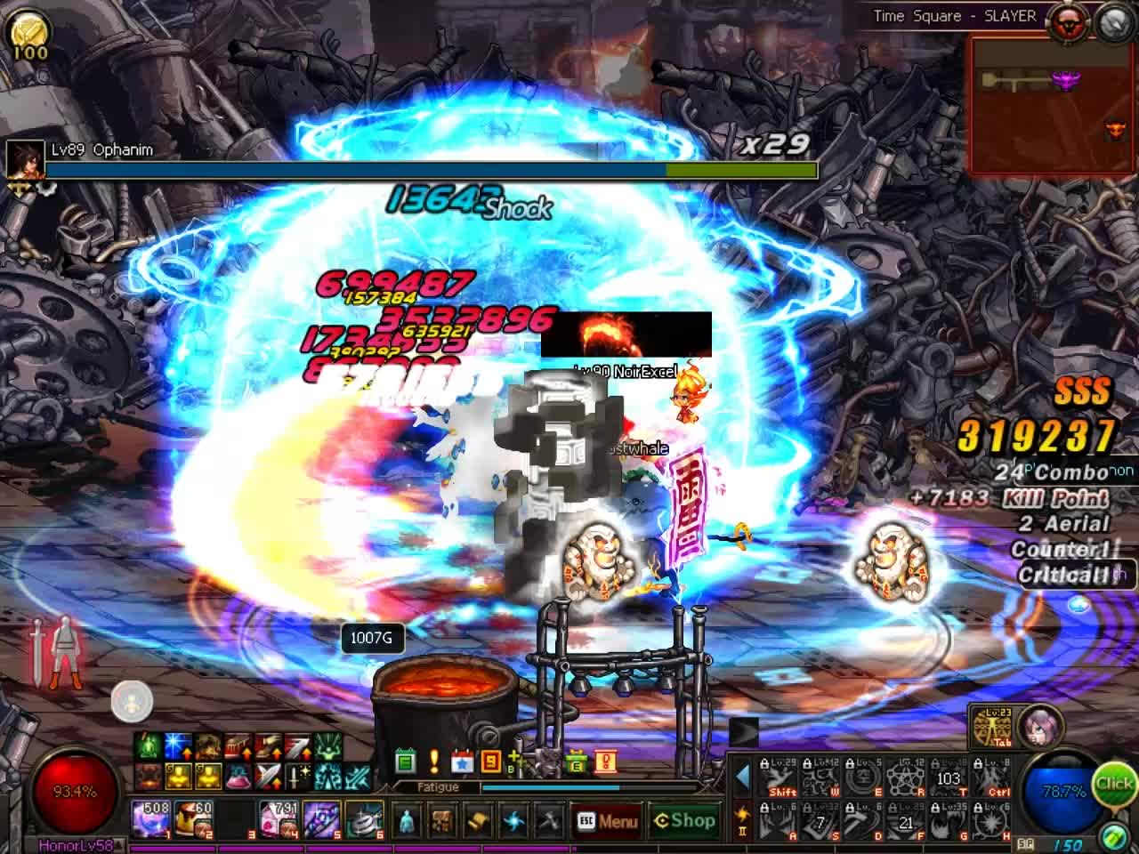 60fps, DFO, MMORPG, DFO Hell Mode Vol.91 GIFs