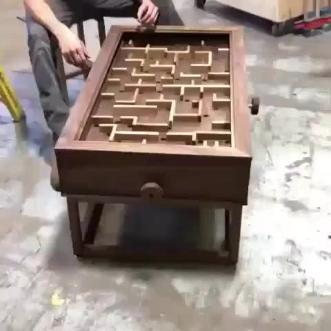 Watch Cool handmade interactive coffee table GIF on Gfycat. Discover more related GIFs on Gfycat