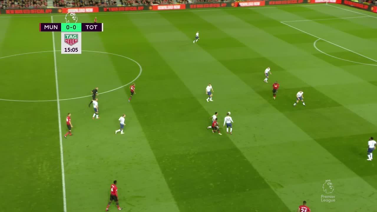 Lukaku Wasted Chance Vs Spurs GIF