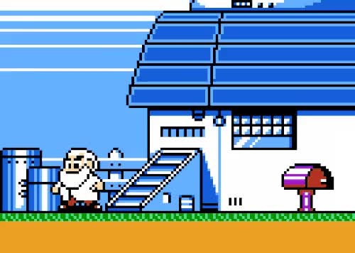 Watch and share Mega Man 5 GIFs and Buildings GIFs on Gfycat
