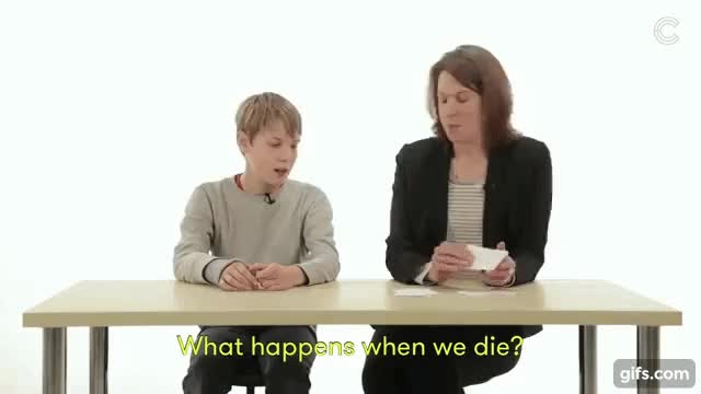 Watch and share Kid Answers Life's Hardest Question GIFs by revel1020 on Gfycat