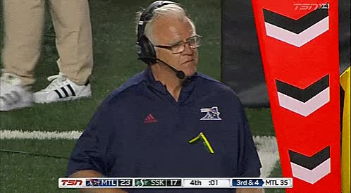 Watch and share Mike Sherman GIFs and Roughriders GIFs by Archley on Gfycat