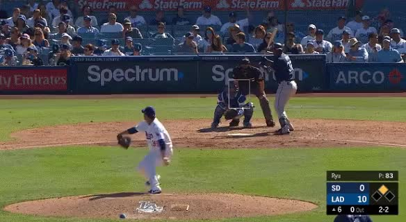 Watch and share Los Angeles Dodgers GIFs and San Diego Padres GIFs on Gfycat