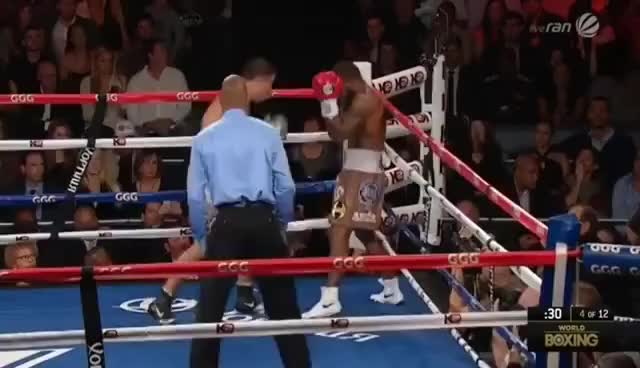 Watch Golovkin Stevens GIF on Gfycat. Discover more boxing gennady ggg golovkin curtis showtime stevens hbo GIFs on Gfycat
