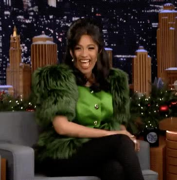 Watch and share Tonight Show GIFs and Cardi B GIFs by Reactions on Gfycat