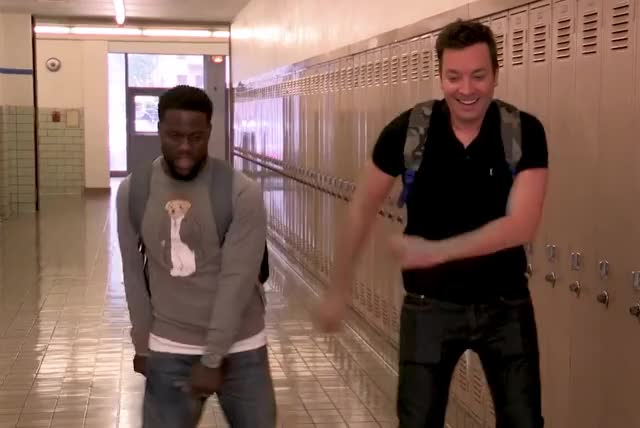 Watch this kevin hart GIF by GIF Queen (@ioanna) on Gfycat. Discover more back, backpack, bff, dance, dancing, excited, fallon, floss, friends, funny, hart, highschool, jimmy, kevin, kevin hart, lol, show, to, tonight GIFs on Gfycat