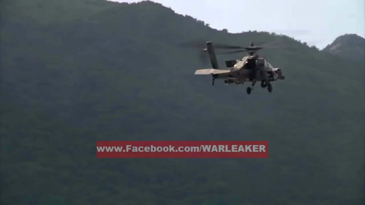 Army, ah-1, ah-64, military, Attack Helicopters Unleash Their Firepower During Massive Live Fire Exercise GIFs