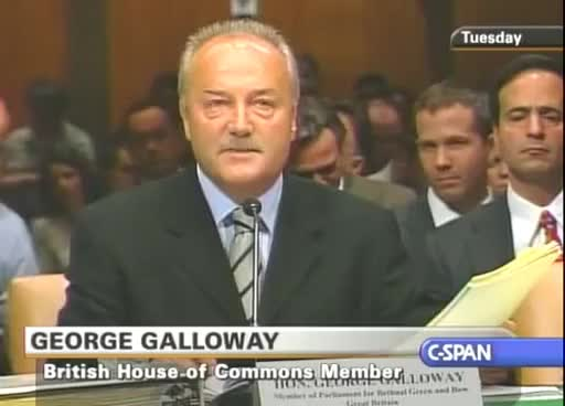 Watch and share George Galloway VS The US Senate 2 Of 5 GIFs on Gfycat