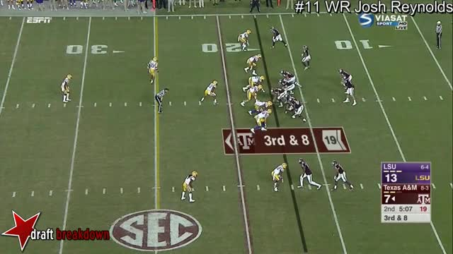Watch and share WR Josh Reynolds Vs LSU 2016 GIFs on Gfycat