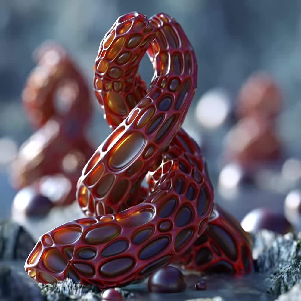 alien, cinema4d, trypophobia,