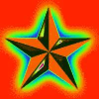 Watch and share Colorful Rainbow Flashing Nautical Star GIFs on Gfycat