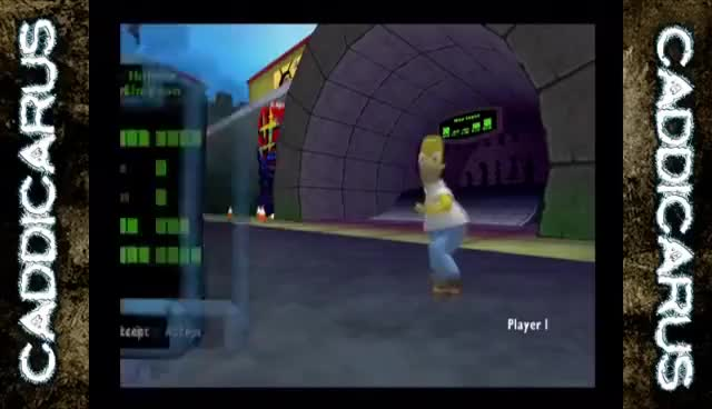 Watch The Simpsons: Tony Hoax Skateboarding - Caddicarus GIF on Gfycat. Discover more related GIFs on Gfycat