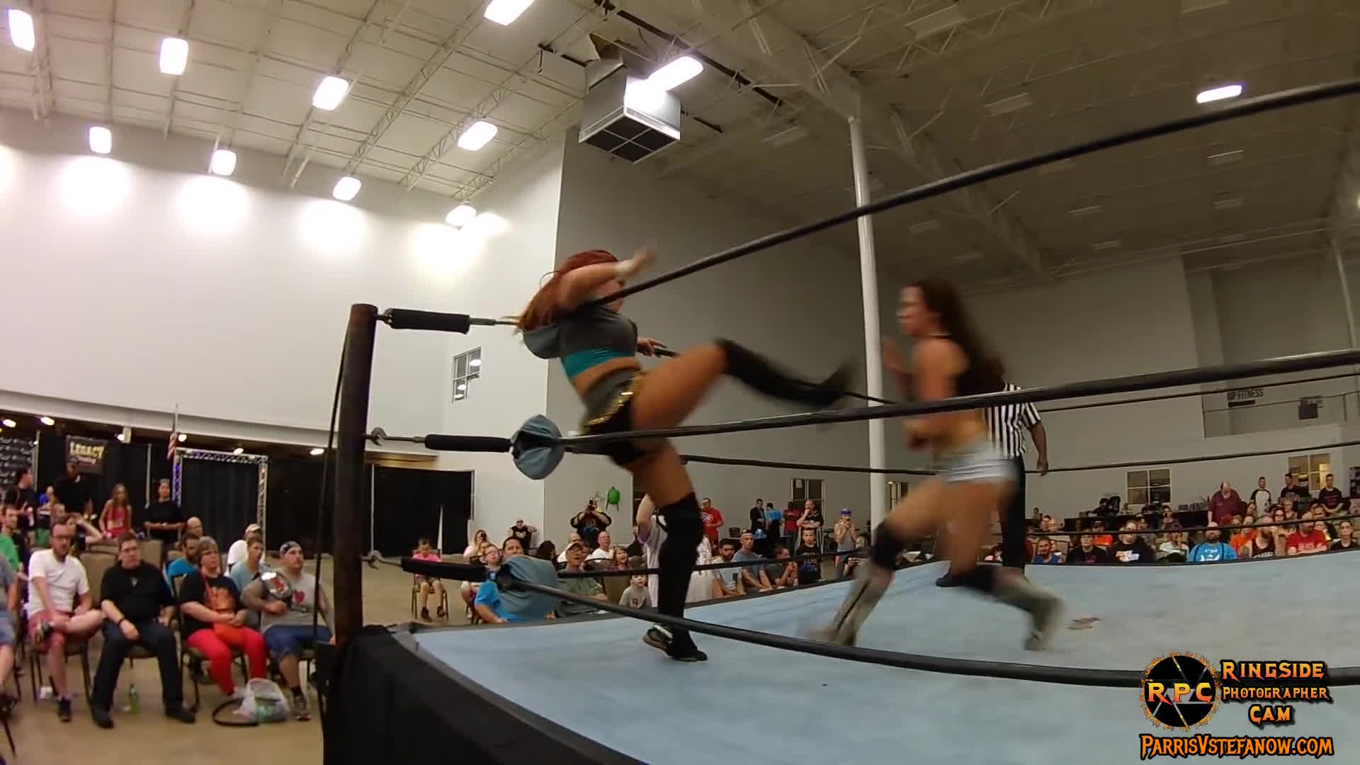 mickie james, parris v stefanow, ringside photographer cam, Mickie James vs Veda Scott GIFs
