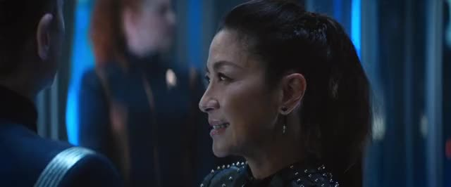 Watch and share Michelle Yeoh GIFs and Star Trek GIFs by Unposted on Gfycat
