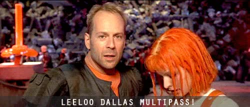 Watch and share The Fifth Element GIFs and Milla Jovovich GIFs on Gfycat