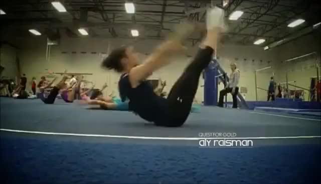 Watch Aly Raisman GIF on Gfycat. Discover more gymnastics GIFs on Gfycat