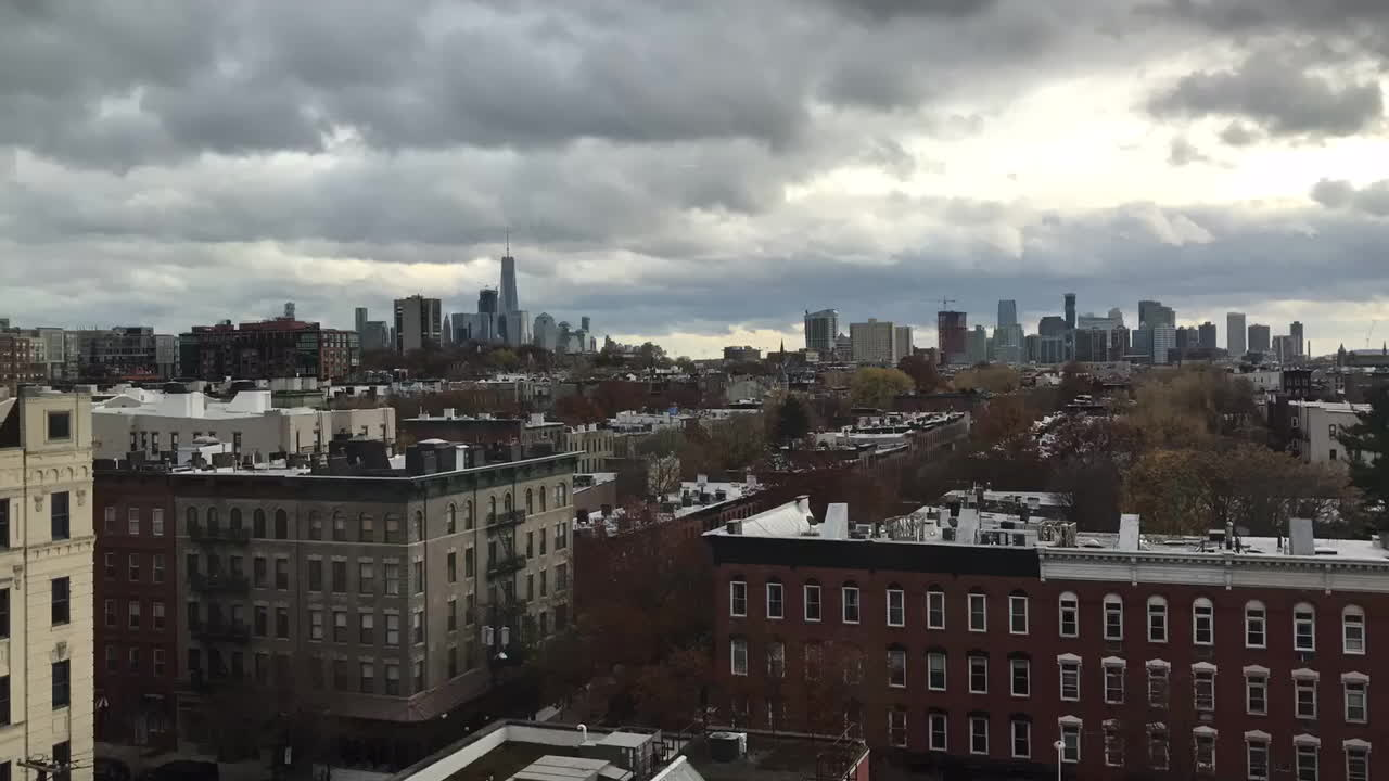 newjersey, Clouds over One World Trade Center from Hoboken NJ GIFs